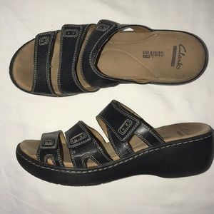 Clark's Collection Leather Sandals